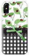 Ladybug Delight IPhone Case
