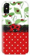 Ladybug Impression IPhone Case