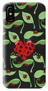 Ladybug Riches IPhone Case