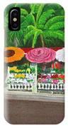 Laguna Beach Flower Stand IPhone Case