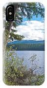 Lake Alva From National Forest Campground Site-yt IPhone Case