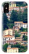Lake Como Houses IPhone Case
