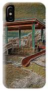 Lake Delores Water Park IPhone Case