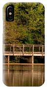 Lake Forest Bridge IPhone Case