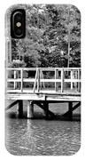 Lake Greenwood Pier IPhone Case