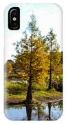 Lake Howard - Fall Color In The Park IPhone Case