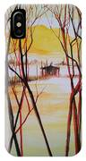 Lake In The Morning IPhone Case