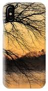 Lake Louise Sunrise Through The Trees IPhone Case