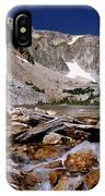 Lake Marie Snowy Range IPhone Case