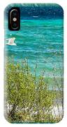 Lake Michigan Seagull In Flight IPhone Case