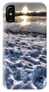 Lake Mjosa Sunset IPhone Case