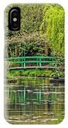 Lake Of Monet IPhone Case