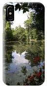 Lake On The Plantation IPhone Case
