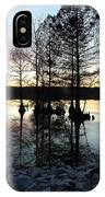 Lake Reflections At Sunset IPhone Case
