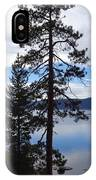 Lake Reflections At Tahoe IPhone Case