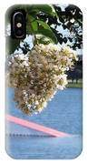 Lake Silver Tree Flowers IPhone Case