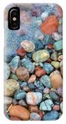 Lake Superior Stones 3 IPhone Case