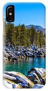 Lake Tahoe Winter IPhone Case