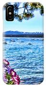 Lake View On Lake Tahoe By Diana Sainz IPhone Case