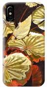Lake Washington Lily Pad 11 IPhone Case