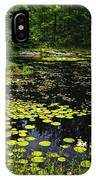 Lake With Lily Pads IPhone Case