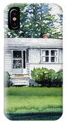 Lakeside Cottage IPhone Case
