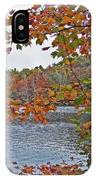 Lakeside In The Fall IPhone Case