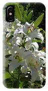 Lakeside Lilies IPhone Case