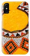 Lakota Souix Dance Collar IPhone X Case