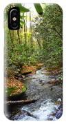Lamance Creek Vertical IPhone Case