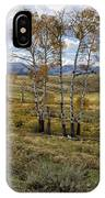 Lamar Valley In The Fall - Yellowstone IPhone Case