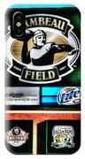 Lambeau Field Entrance IPhone Case