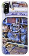 Lamborghini Classic Tractor IPhone Case