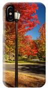 Lamp Post On The Corner IPhone Case