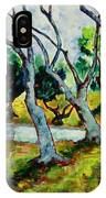 Land Park Dancing Trees IPhone Case