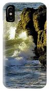 Land Versus The Sea IPhone Case
