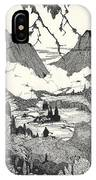Landors Cottage IPhone Case