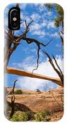 Landscape Arch - Arches National Park IPhone Case