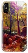 Landscape Painting Of Beautiful Autumn IPhone X Case