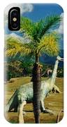 Landscape With Dinosaurs IPhone Case