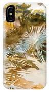 Landscape With Palmettos IPhone Case