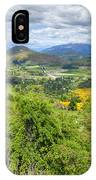 Landscape With Winding Road IPhone Case