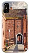 Landskrona Citadel In Sweden IPhone Case