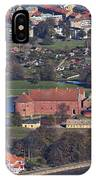 Landskrona Citadel Photographed From The Air IPhone Case