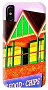 Langland Huts I IPhone Case