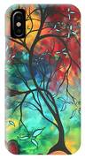 Languishing In The Breeze Original Art Madart IPhone Case