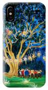Lantern Tree IPhone Case