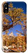 Larch Trees Frame Prusik Peak IPhone Case