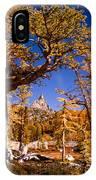 Larches Frame Prusik Peak IPhone Case