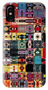 Larg Blocks Digital - Various Colors I IPhone Case